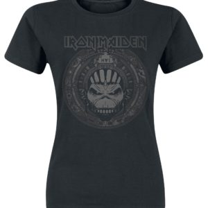 Comprar Iron Maiden Book Of Souls Skull Camiseta Mujer Negro