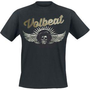 Comprar Volbeat Dark Skullwing Camiseta Negro