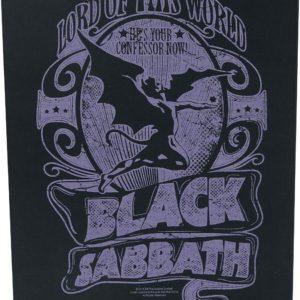 Comprar Black Sabbath Lord Of This World Parche espalda Standard