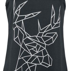 Comprar Innocent Geometric Deer Vest Top Mujer Negro