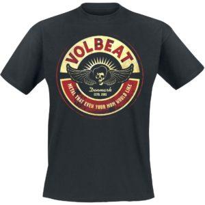 Comprar Volbeat Circle Mom Camiseta Negro