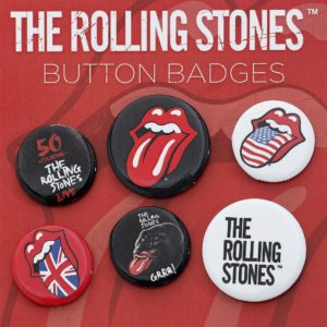 Comprar The Rolling Stones Lips Lote de chapas multicolor