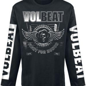 Comprar Volbeat Fight For Honor Manga larga Negro