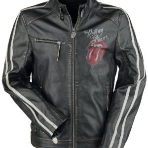 Comprar The Rolling Stones EMP Signature Collection Cazadora de cuero Negro