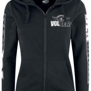 Comprar Volbeat Denmark Skull Chaqueta con capucha Mujer Negro
