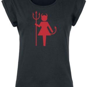 Comprar Female Devil Camiseta Mujer Negro