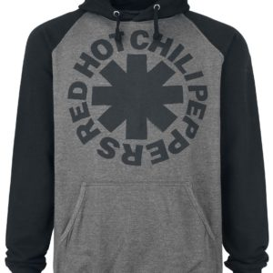 Comprar Red Hot Chili Peppers Black Asterisk Sudadera con capucha gris marengo/negro