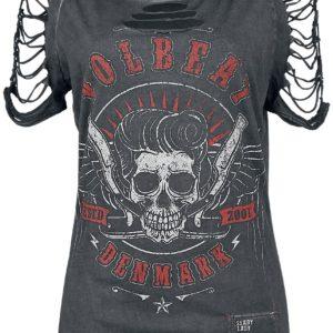 Comprar Volbeat EMP Signature Collection Camiseta Mujer Gris oscuro