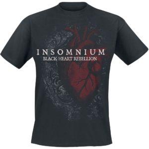 Comprar Insomnium Black Heart Rebellion Camiseta Negro
