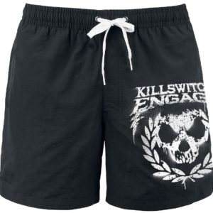 Comprar Killswitch Engage Skull Leaves Bañador Negro