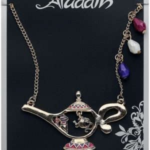 Comprar Aladdín Lámpara Mágica Collar Dorado
