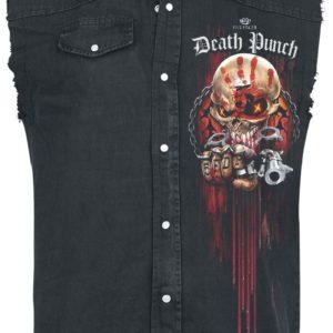 Comprar Five Finger Death Punch Assassin Camisa trabajo sin mangas Negro
