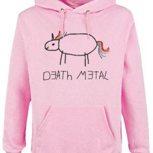 Comprar Death Metal Sudadera con capucha Rosa