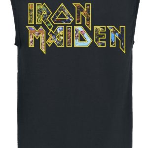 Comprar Iron Maiden Eddie Logo Camiseta Tirantes Negro
