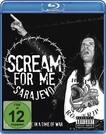 Comprar Bruce Dickinson Scream for me Sarajevo Blu-ray Disco standard