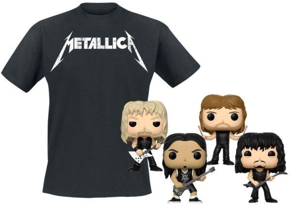 Comprar Metallica Metallica Bundle Camiseta & Funko Standard