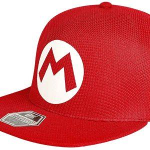 Comprar Super Mario Logo Snapback Cap Rojo