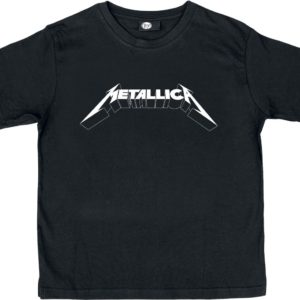 Comprar Metallica Logo Camiseta de Niño/a Negro
