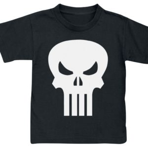 Comprar The Punisher Skull - Logo Camiseta de Niño/a Negro