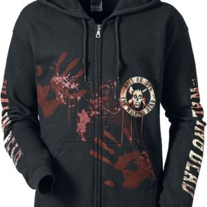 Comprar The Walking Dead Kill Or Die Sudadera capucha con cremallera Negro