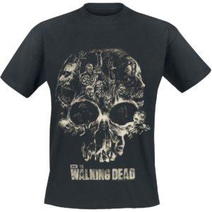 Comprar The Walking Dead Skull Camiseta Negro