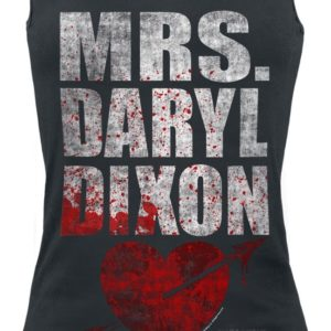 Comprar The Walking Dead Mrs. Daryl Dixon Top Mujer Negro