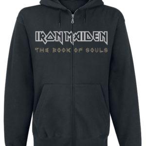 Comprar Iron Maiden Book Of Souls Exploding Head Sudadera capucha con cremallera Negro