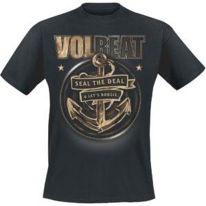 Comprar Volbeat Anchor Camiseta Negro