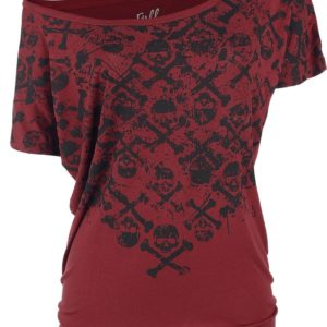 Comprar Full Volume by EMP Can You Read My Mind Camiseta Mujer Burdeos