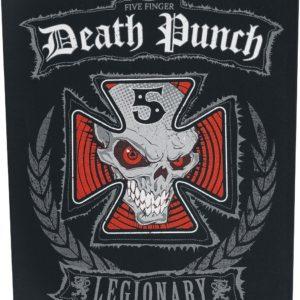 Comprar Five Finger Death Punch Legionary Parche espalda multicolor