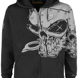 Comprar Five Finger Death Punch EMP Signature Collection Sudadera capucha con cremallera Gris oscuro