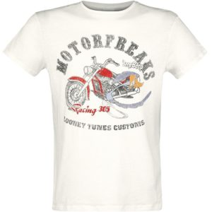 Comprar Looney Tunes Roadrunner Camiseta Blanco Viejo mezclado
