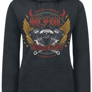 Comprar AC/DC Highway To Hell Jersey con Capucha Mujer Negro