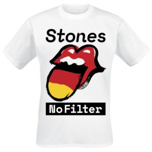 Comprar The Rolling Stones No Filter Germany Camiseta Blanco