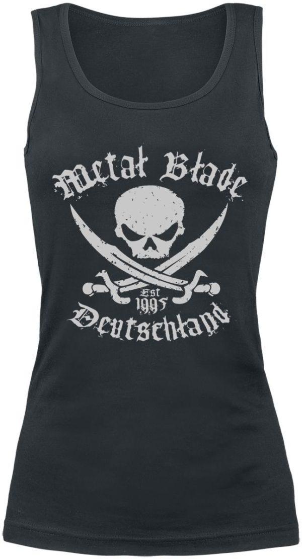 Comprar Metal Blade Pirate Deutschland Top Mujer Negro