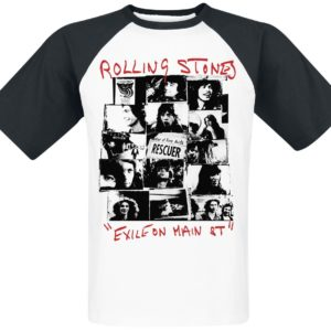 Comprar The Rolling Stones Exile on Main St. Camiseta blanco-negro
