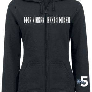 Comprar Five Finger Death Punch Justice For None Skull Chaqueta con capucha Mujer Negro