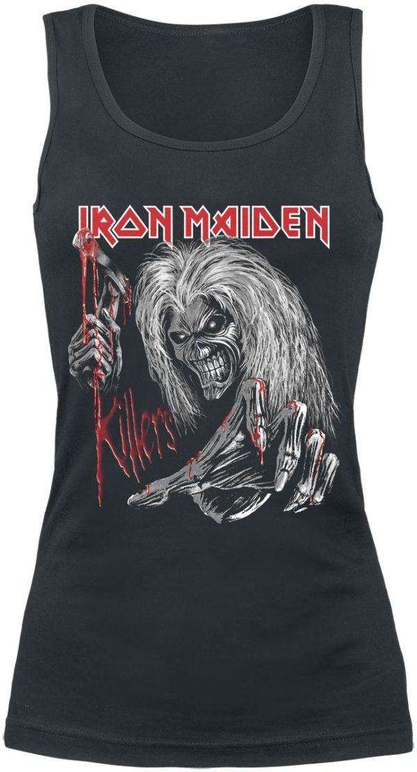 Comprar Iron Maiden Ed Kills Again Top Mujer Negro
