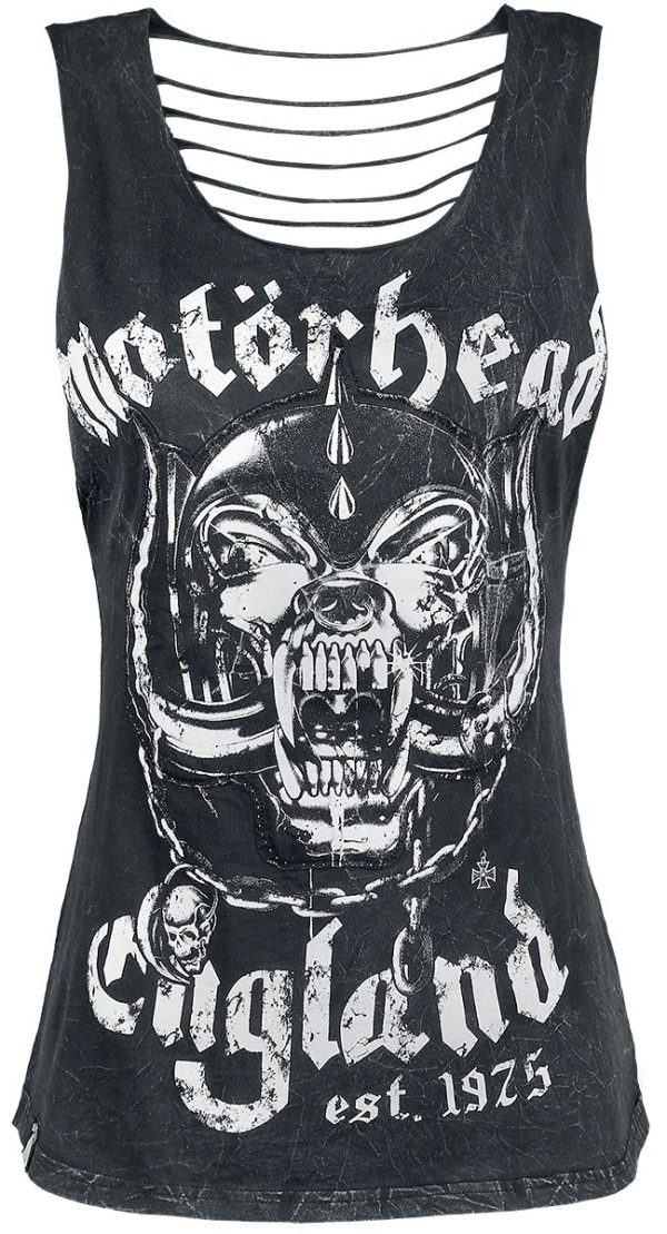 Comprar Motörhead EMP Signature Collection Top Mujer Negro
