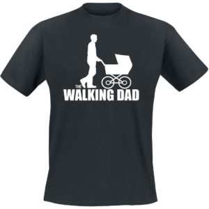 Comprar The Walking Dad Camiseta Negro