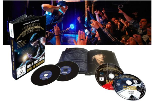 Comprar Michael Schenker's Temple Of Rock On a mission - Live in Madrid 2-Blu-ray & 2-CD standard