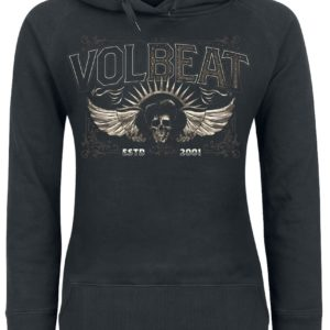 Comprar Volbeat Character Collage Jersey con Capucha Mujer Negro