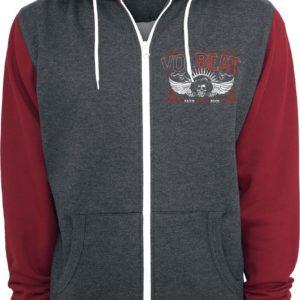Comprar Volbeat Character Collage Sudadera capucha con cremallera rojo/gris