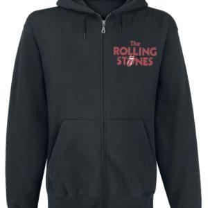 Comprar The Rolling Stones Tongue Sudadera capucha con cremallera Negro