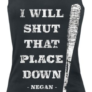 Comprar The Walking Dead I Will Shut That Place Down Top Mujer Negro