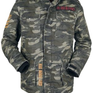 Comprar Five Finger Death Punch EMP Signature Collection Chaqueta Camuflaje oliva