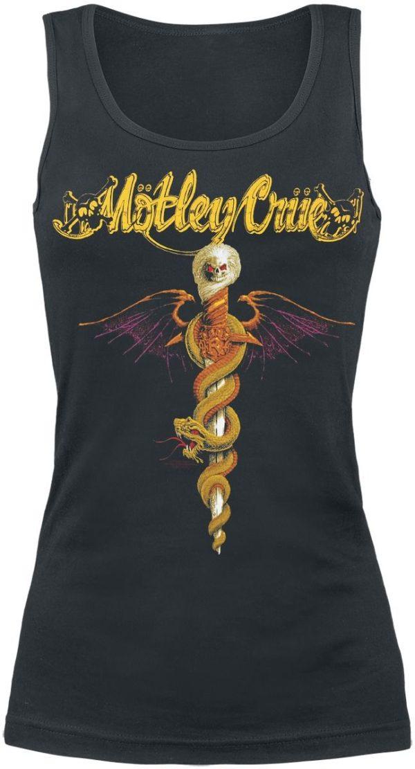 Comprar Mötley Crüe Dr. Feelgood Top Mujer Negro