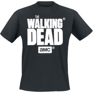 Comprar The Walking Dead Logo Camiseta Negro