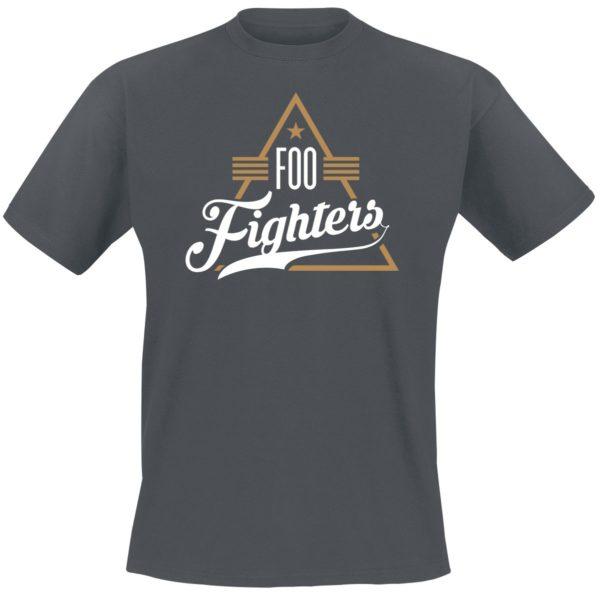 Comprar Foo Fighters Triangle Camiseta Gris/Melé