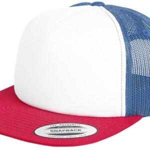 Comprar Yupoong Retro Trucker Cap Gorra de camionero blanco/azul marino/rojo